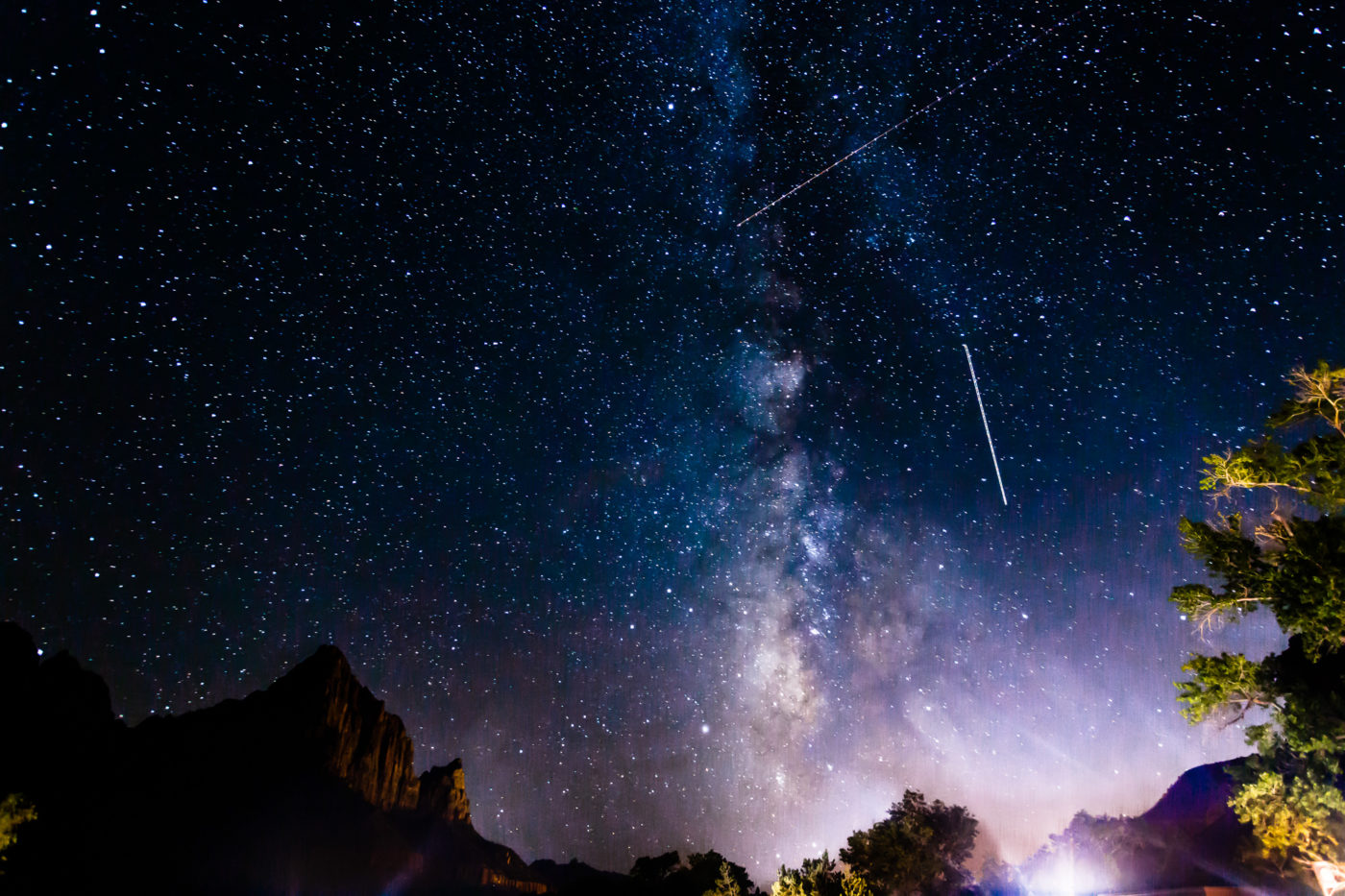 Missile Command above Zion National Park