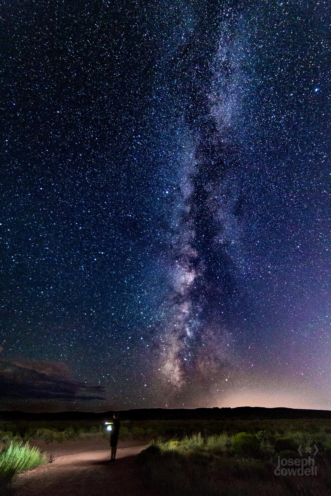Fort Pearce Milky Way with Hayden
