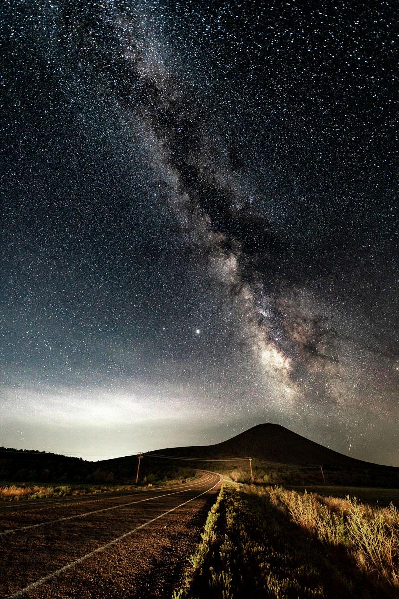 Milky Vey - Milky Way over Veyo Volcano by Joseph Cowdell 20200808_73748-4
